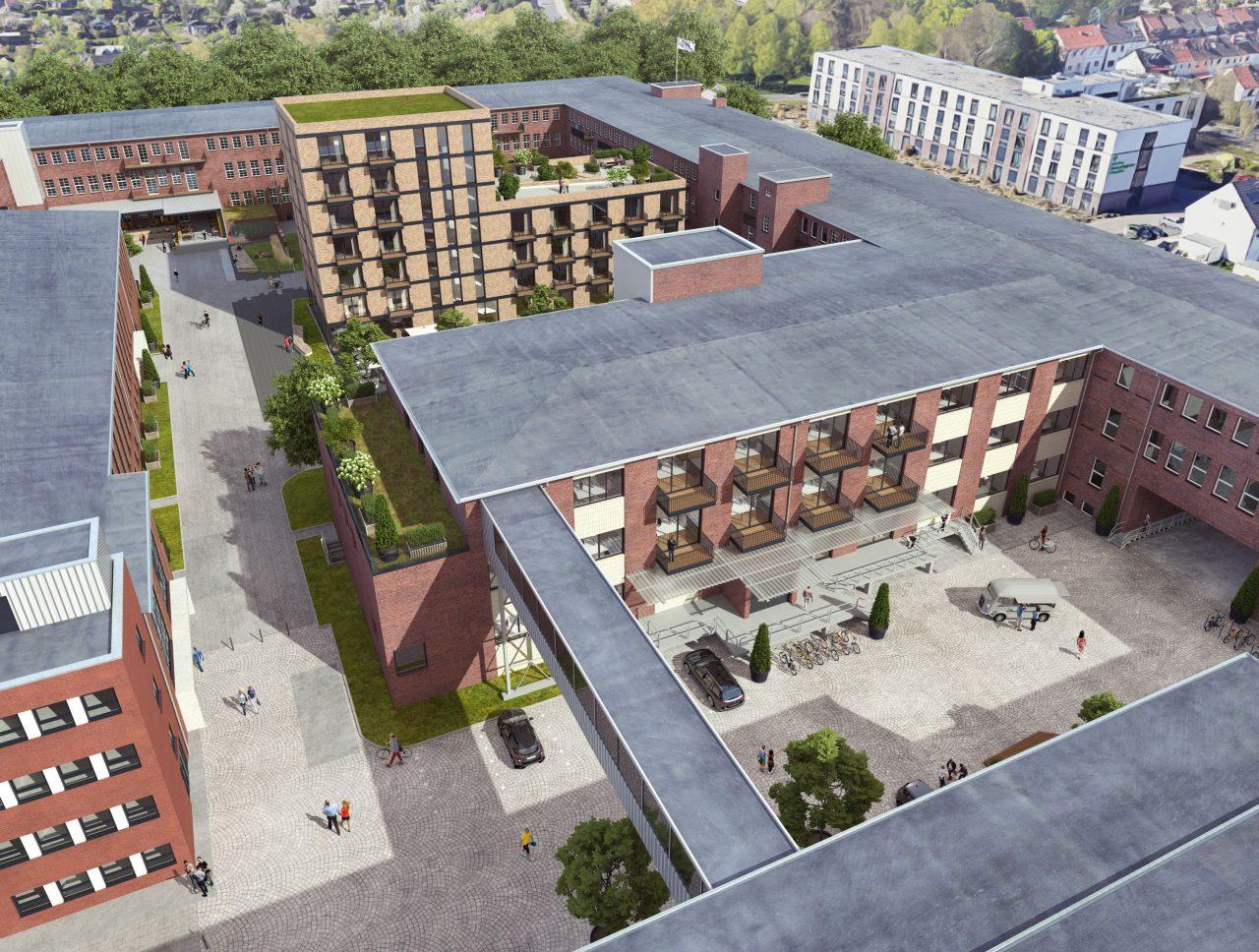 20200813_DIE FABRIK 2. Bauabschnitt_©Justus Grosse Real Estate GmbH