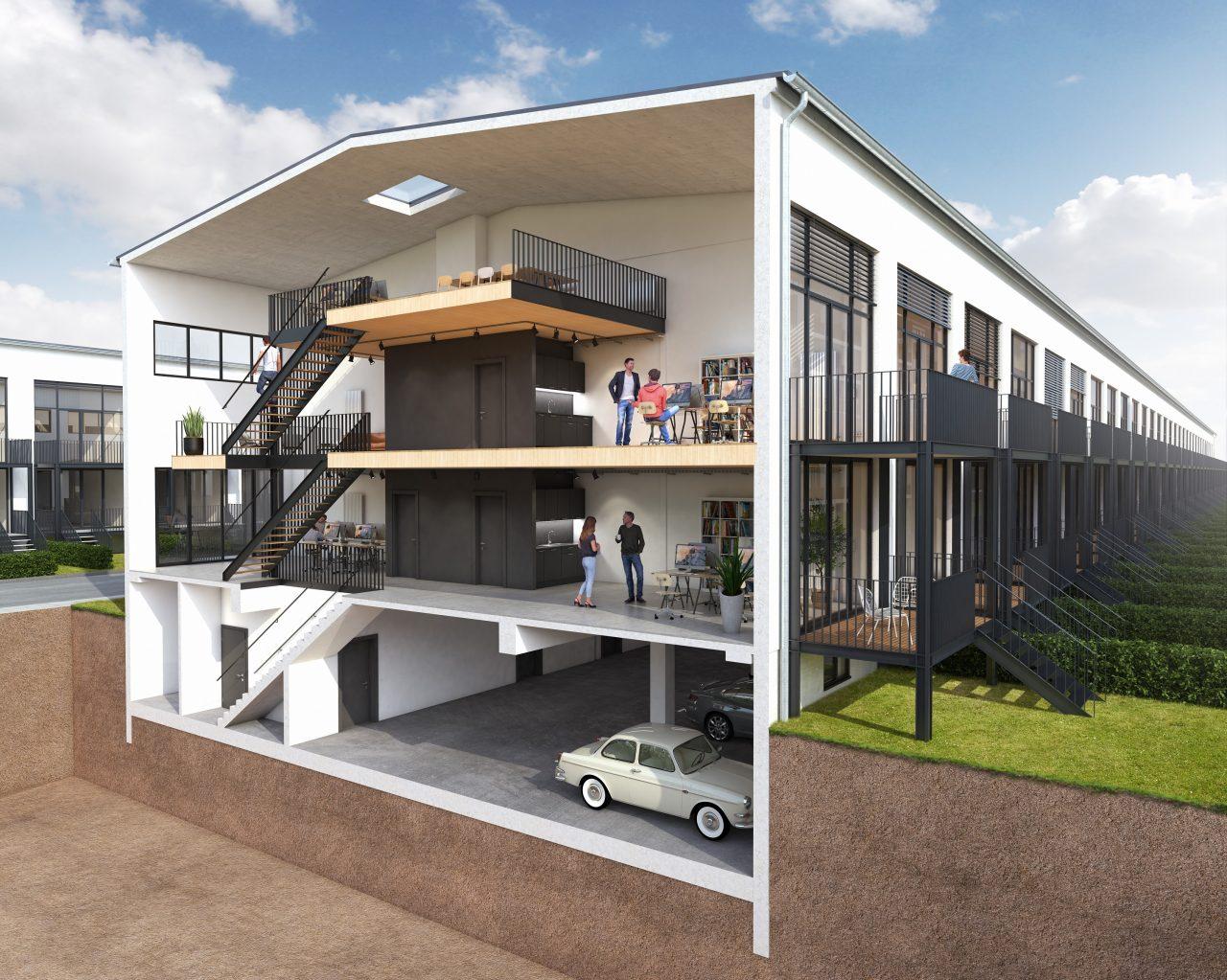 Atelierhäuser1-Schnitt2 03_21_web