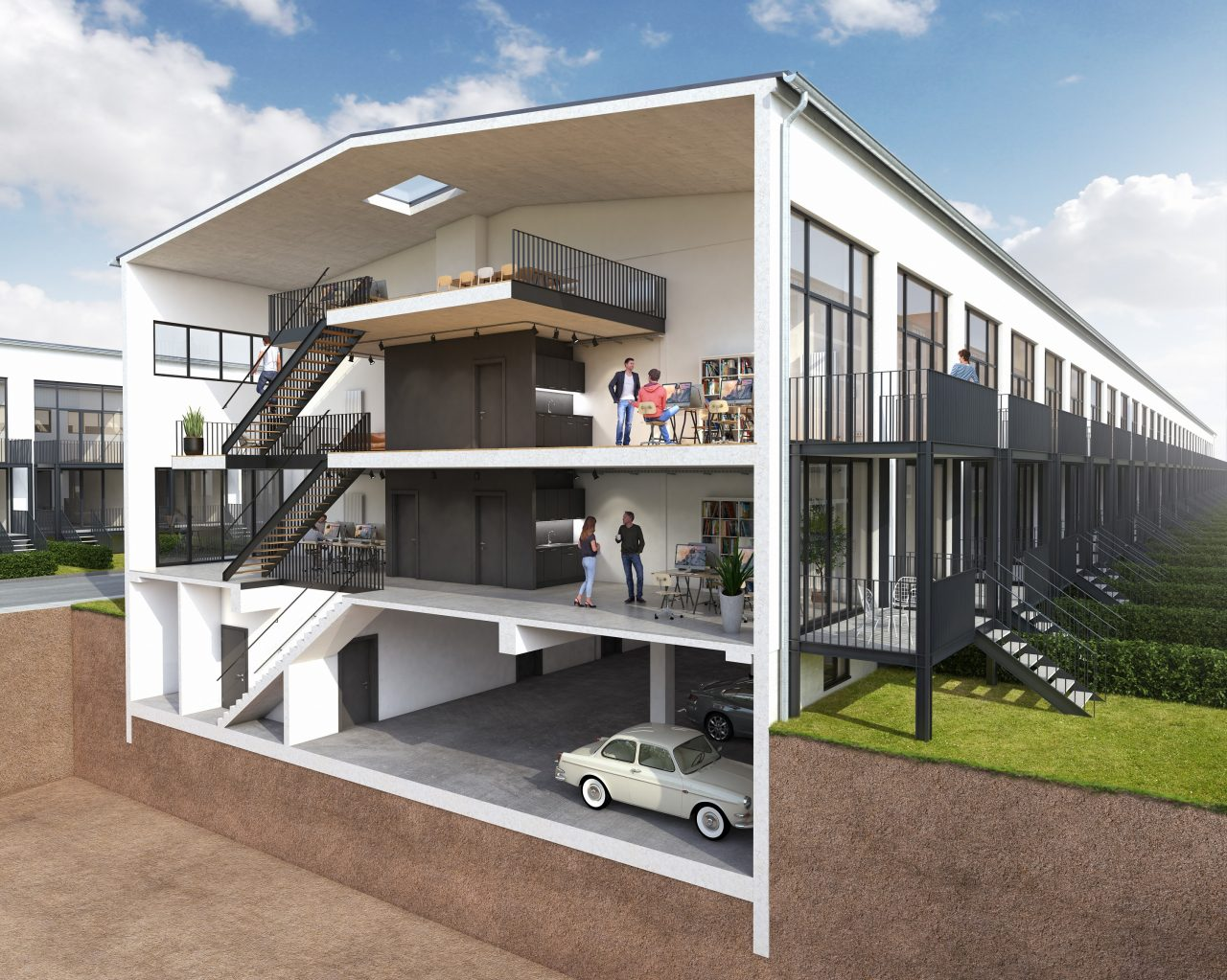 Atelierhäuser1-Schnitt2_web